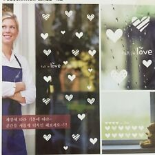 Removable PVC shop window sticker removal DIY house room wall decal decoration 3