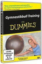 Gymnastikball Training für Dummies! Balance-Übungen tieflieg. Muskelgruppen (DVD