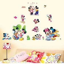 Disney Mickey Mouse Wall Art Stickers Kids Nursery Boys Vinyl Decal Decor DIY