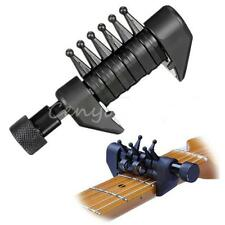 Adjustable Black Multifunction Electric Guitar Tuning Clamped Chord Key Capo