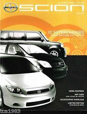 Big 2005 SCION Magazine{Brochure Info}:xA,xB,tC,Accessories,Hipster,Customs,SEMA