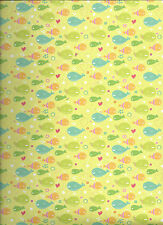 WHALES 12 x 12 Scrapbook Paper - 2 Sheets