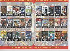 GRATIS COMIC TAG 2014 KOMPLETT alle 30 Hefte - DONAL DUCK - INFINITY - SIMPSONS