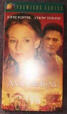 Anna And The King - Jodie Foster - Chow Yun Fat - Gently Used VHS Video - VGC