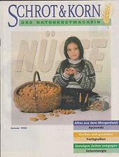 Von 1999: Kompletter Jahrgang Naturkostmagazin Schrot & Korn