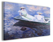 Quadro moderno Claude Monet vol X stampa su tela canvas pittori famosi