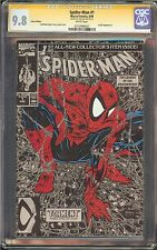 Spider-Man #1 CGC 9.8 NM/MT SIGNED STAN LEE Marvel Silver Edition Todd McFarlane