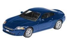 Jaguar XK, metallic blue - 1:87 / H0 Gauge - Schuco (25512)