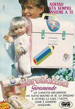 X4228 Sbrodolina Giramondo - GIG - Pubblicità 1991 - Advertising