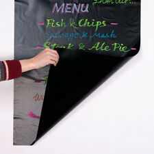 Adhesive Removable Blackboard Sticky Back Chalkboard Contact Paper Roll