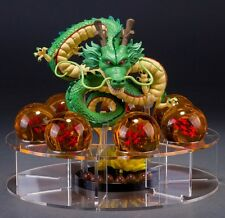 DRAGON BALL | Shenron Figure and Bolas de Dragon and Exhibitor Set Completo