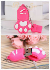 8GB Mini Cute USB Flash Drive Bear Claw Paw 2.0 Memory Stick Pen Drive Disk Gift