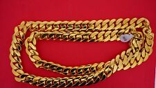 400 Grams Miami Cuban Link Chain 10k Solid Gold Necklace Best Deal Video 15 mm
