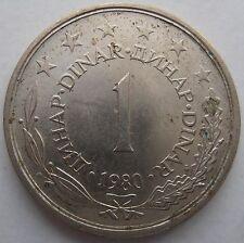 YUGOSLAVIA 1 DINAR 1980