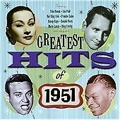 The Greatest Hits of 1951, Various Artists, Very Good Condition Double CD