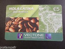 TELECARTE ITALIE, ITALIA, HOLA LATINA, VECTONE, USAGEE, PHONE CARD