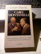 LIBRO CARO MONTANELLI CESARE MARCHI RIZZOLI 1985