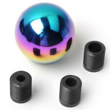 Manual/Automatic Car SUV Round Ball Colorful Gear Shift Knob Handle Stick Head