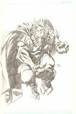 Beta Ray Bill Pencil Commission - 2004 Signed art by David Finch