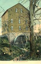A View of the Flour Mill, Mill Race, & Wheel, In Action, Greensprings OH
