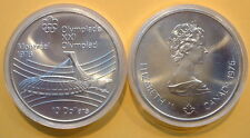 CANADA 1976 OLYMPIC $10 COIN .925 FINE, 48.6 GR, TOTAL PURE SILVER 1.446 TROY OZ
