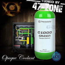 Thermaltake C1000 Opaque 1000ml Green Computer Water Cooling System Coolant