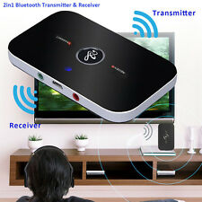 Bluetooth Transmitter + Receiver Wireless A2DP Stereo Audio Musik Adapter NEU