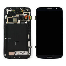 Black For Samsung Galaxy Mega 6.3 i9200 i9205 LCD Screen Digitizer Bezel Frame