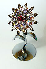 "Crystocraft ""Giant Sunflower""Ornament with Swarovski Crystals"