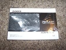 2009 GMC Topkick C4500 Owner Owner's User Guide Operator Manual 6.6L V8 Diesel