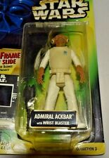 Star Wars Power Of The Force Admiral Ackbar MOC with Freeze Frame Slide