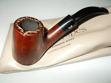 "NEW!! ""Bjarne"" Viking Classic Pipe (Handmade in Denmark, Comes with Bag)"