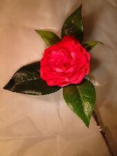 SIA fleurs artificielles : branche de camélia