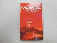 Planets for Sale by A. E. Van Vogt! (1970, Tempo, PB)! VERY HIGH GRADE! LOOK!