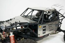 Axial YETI 90025 90026 Stainless Steel Hood + Roof Top + Side Body Panel SILVER