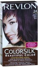 Revlon ColorSilk Hair Color 34 Deep Burgundy 1 Each (Pack of 3)