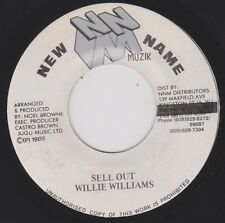 WILLIE WILLIAMS {80s Reggae} Sell Out / New Name Music Compurterized ♫HEAR