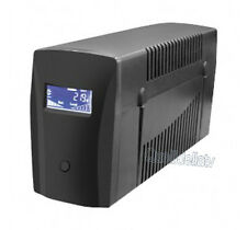 GRUPPO CONTINUITA UPS INTERACTIVE 650VA 360W PC LAN SERVER SCHUKO DISPLAY LIT65D