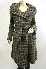 "$488 BCBG DK. JAVA COMBO ""CWC8B221"" WOVEN JACKET WOOL COAT NWT S"