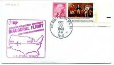 FFC 1978 Inaugural Flight New York JFK San Francisco Seaboard World Airlines USA