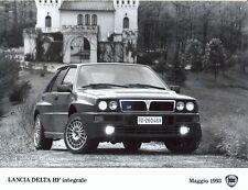 Lancia Delta HF integrale Evo 1993 original period press photograph - 3