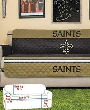 NEW ORLEANS SAINTS NFL FOOTBALL TEAM SOFA COUCH FURNITURE PROTECTIVE COVER