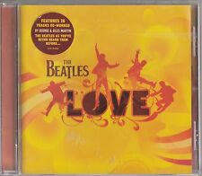 THE BEATLES - Love CD -2006 -The Best Of Tracks Re-Worked -George & Giles Martin