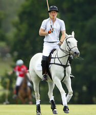 Prince Harry UNSIGNED photo - D343 - Playing Polo