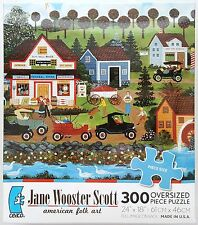 CEACO® 300pc JANE WOOSTER SCOTT • THE SHOPPING CENTER • PUZZLE Jig Saw