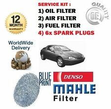 FOR MAZDA MX3 MX-3 1.8 1992-1998 SERVICE OIL AIR FUEL FILTER SET + SPARK PLUGS