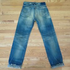 VINTAGE LEE  COWBOY JEANS DENIM  BUCKLE BACK MADE IN JAPAN W32 L36 SPE EDITION