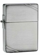 Zippo 1935, 1935 Replica, Brushed Chrome Lighter, **6 Extra Flints & Wick**