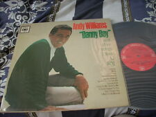 a941981  CBS LP Andy Williams Danny Boy