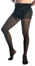 Mens Pantyhose, Mantyhose, Crotchless Pantyhose For Men. Black Sheer
